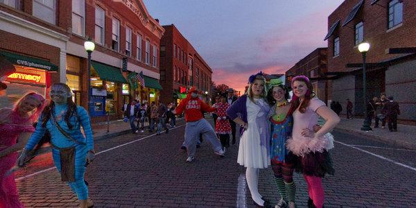 Halloween on Court St