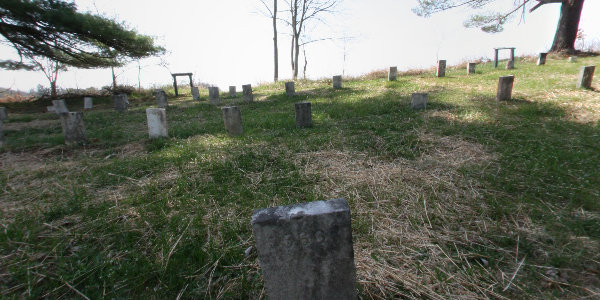 Cemetery at Ridges